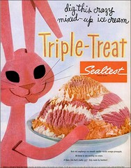 55 Sealtest (1950sUnlimited) Tags: food design desserts icecream 1950s packaging snacks 1960s dairy midcentury snackfood sealtest