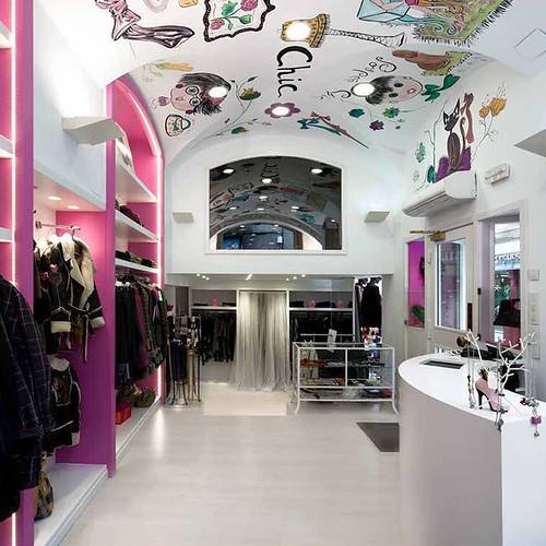 reforma interior de local comercial para tienda Poupee Chic, Mercedes de Miguel - Bilbao 14