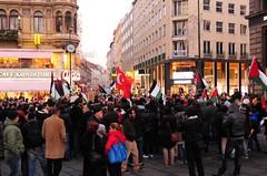 Palstinensische Solidarittsdemo gegen Israel in #WIEN   #gaza #israel (daniel-weber) Tags: wien israel demonstration kundgebung palstina gaza antiisrael stephansplatz solidaritt propalstinenser