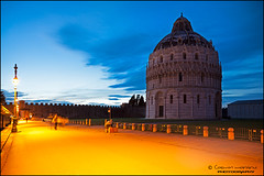 12-10346-Pisa.Italy (cossphoto) Tags: blue sky urban italy orange tower art turn canon landscape photography pisa tuscany bluehour toscana tilt urbanlandscape cosmin longexposer morariu inclinat rememberthatmomentlevel1 rememberthatmomentlevel2 baptisteriul cossphoto cossphotoart