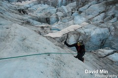 Chamonix, France - Ice Climbing (GlobeTrotter 2000) Tags: travel vacation mountain snow france alps ice french climb europe vertigo glacier adventure explore climbing chamonix mont blanc mb montblanc grands argentiere alpinism alpinist montets