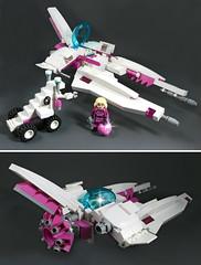 Viperetta Views (halfbeak) Tags: lego vv moc starfighter vicviper novvember viperetta intergalacticgirl novvember2012