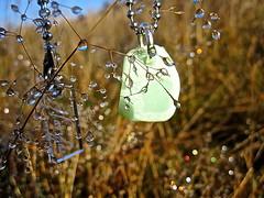 Havsglas Sverige 025 (Havsglas Sverige) Tags: sea necklace seaglass strandglas havsglas