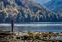 Drina FlyFishing (Irene Becker) Tags: river fishing serbia flyfishing trout balkan drina flyfishermen ljubovija ribolov pastrmka pecaros podrinje thebankofthedrina pиболов мушичарење mačvadistrict подриње