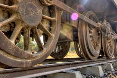Rusted Wheels (Aliraza Khatri) Tags: pakistan abstract eye history colors metal train wheels engineering rusted catching expired heavy karachi sindh khatri aliraza