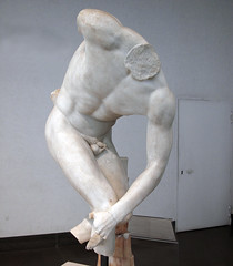 Myron, Discobolus, fragmented copy