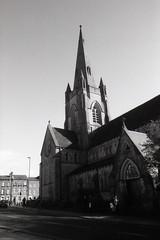 Chaplaincy (Saturated Imagery) Tags: urban blackandwhite church iso100 leeds universityofleeds selfdeveloped luckyshd100 vivitar28mmf25 prakticatl5b rolleid74