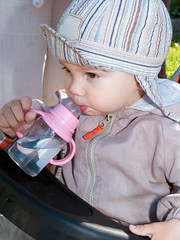 boy drinking water from bottle (Maxim Tupikov) Tags: life new