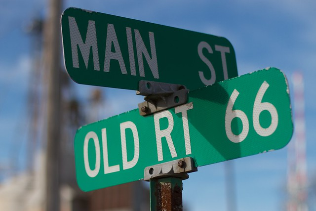 Main Street and Route 66