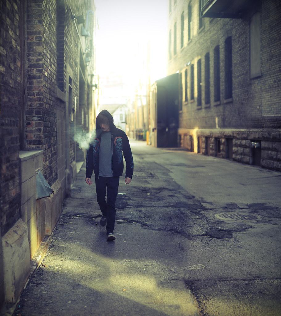 Wayfaring stranger adamskonecki tags city winter boy portrait urban selfportrait cold wisconsin self
