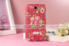 Cath Kidston case for Samsung Galaxy Note 2 II Rural Flower Red —— $29.99