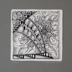 string 27 (shebicycles) Tags: pen pencil tile doodle tps zentangle string27