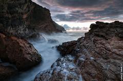 Sunrise (Carlos J. Teruel) Tags: sunrise mar nikon mediterraneo tokina murcia amanecer cielo nubes cartagena rocas marinas d300 filtros xaviersam singhraydarylbensonnd3revgrad carlosjteruel