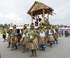 Prince William, Duke of Cambridge and Catherine, Duchess of Cambridge visit the remote Island Nation of Tuvalu, the last part of their 10 day tour of the Far East and Pacific WENN.com