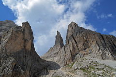 Le Torri del Vajolet (PhotoFiore) Tags: italy del italia le alto trentino dolomiti torri adige catinaccio vajolet