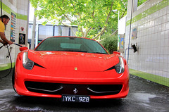Summer's Back (CRB.Photography) Tags: new red italy cars car big amazing fantastic italia awesome great wide fast australia melbourne ferrari victoria richmond best special stunning incredible lamborghini rare