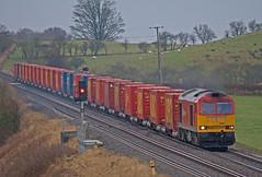 Saturday Superpower (Richie B.) Tags: newcastle traction twin railway brush db class northumberland and carlisle 60 schenker kfa gilsland procor 60091 6c48