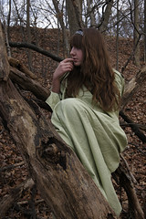 Persephone (MsChelsT) Tags: portrait green greek goddess persephone