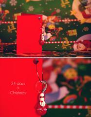 {24 Days of Christmas 2012} 18/24 (plakkanera.) Tags: christmas red italy macro happy pentax bokeh gift