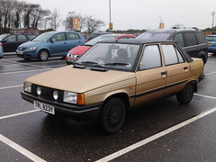 renault 9,pool redruth dec 2012. (RUSTDREAMER.) Tags: pool cornwall 9 renault saloon redruth renault9 rustdreamer