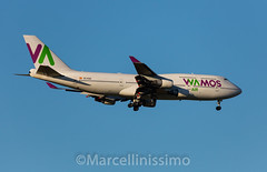 Wamos Air  Boeing 747-412 (Marcellinissimo) Tags: zrh zurichairport wamos boeing 747412 vueling eckqc