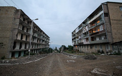 Shushi City Centre (Kachangas) Tags: armenia nagorno karabakh nagoronokarabakh artsakh armenian stepanakert shushi shusha caucasus war conflict azeribaijan