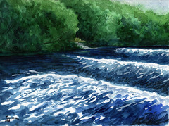 Rapids on Rideau River (Michael Lukyniuk) Tags: rideauriver rapids ottawa strathconapark river