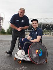 Patron Jason Leonard OBE presents Rio 2016 Paralympic Caps