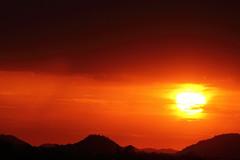 Sunset 6 29 16 008 (Az Skies Photography) Tags: sun set sunset dusk twilight nightfall cloud clouds sky skyline skyscape scottsdale arizona az scottsdaleaz arizonasky arizonaskyline arizonaskyscape arizonasunset red orange yellow gold golden salmon black june 29 2016 june292016 62916 6292016 canon eos rebel t2i canoneosrebelt2i eosrebelt2i