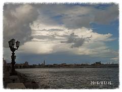 La Bari (triziofrancesco) Tags: sea sky italy clouds italia nuvole mare cielo lungomare puglia bari nubi