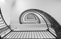 Staircase -  white sensation (rainerralph) Tags: thuringia deutschland treppenauge thringen germany klassikerstadt omdem5markii staircase objektiv714pro weimar