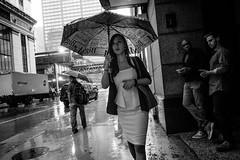 Chicago (mollyporter) Tags: chicago girl rain umbrella sonyrx100iii