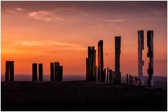 Halde Haniel (tosch_fotografie) Tags: sonnenuntergang halde ruhtptt ruhr ruhrgebiet stehlen holz kraftwerk wolken kies schutt haniel aussicht berg hgel sommer bunte farben sunset colors orange clouds olympus omd em10