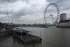 THE THAMES FROM WESTMINSTER BRIDGE (Londres, mar de 2016) (perfectdayjosep) Tags: westminsterbridge londoneye thamesriver riutmesi londra london londres perfectdayjosep
