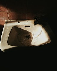 Sink (@keenanblu) Tags: contrast stillife water choco naturallight sink shadow shadows light brown indoor natural bathroom