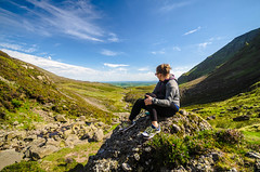 Look ahead (exenza) Tags: climb landscape mountain portrait sporty top woman