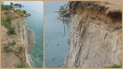 Scarborough Bluffs. (France-) Tags: collage bluffs ontario toronto canada falaise