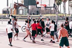 Hoop Dreams (J.Val.) Tags: basketball venice beach hoops fade action colors jval california dreams playing explore people walk tallest young nikon
