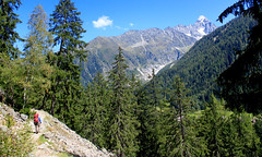 Haute Route - 3 (Claudia C. Graf) Tags: switzerland hauteroute walkershauteroute mountains hiking