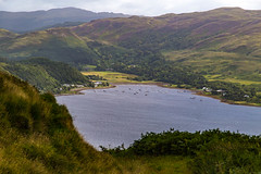 Hills above Loch Melfort (cathbooton) Tags: transport boats treasuredmoments freshair activity outdoors august westcoast summer holiday vacation explore walking hills canonusers canoneos landscape lochmelfort argyll sea loch scotland