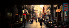 Chinatown (Rob-Shanghai) Tags: china shanghai cinematic chinatown film street signes leica m240 alley 50mm