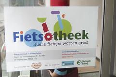 Fietsotheek Adegemestraat Mechelen - 6 (Mechelen op zijn Best) Tags: fietsotheek uitleendienst fiets kinderfiets fietsen kinderen adegemstraat mechelen lenen