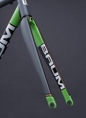 GTR, Matte Field Grey, Custom Green, Custom Gold, Corretto (Baum Cycles) Tags: baum