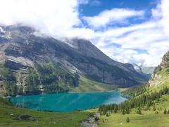 schinensee (ich_onja_anja) Tags: kandertal kandersteg helvetica svizra svizzera hiking wandern berge oeschinensee alpen suisse switzerland bern kantonbern schweiz