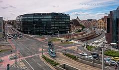 Square (Grzesiek.) Tags: placdominikaski wrocaw wroclaw architektura architecture square plac tram tramwaj