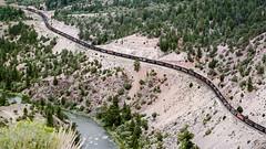 2001 DFR DRGW & Southern Pacific (Schoonmaker III) Tags: train trainchasing railroad riogrande southernpacific colorado coloradotrains coloradoriver circa2001 dfr2001 drgw film