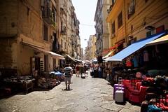 Naples (cookedphotos) Tags: canon 5dmarkii travel italy naples street streetphotography luggage balcony