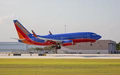 Boeing 737 (k.hofmeister) Tags: southwest airport flughafen landung fort lauderdale spotting planespotting plane runway