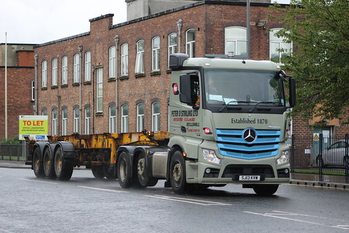 GM SJ13 KVW MERCEDES ACTROS PETER D STIRLING LTD