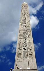The Obelisk - Place de la Concorde, Paris (Monceau) Tags: obelisk placedelaconcorde egyptian hieroglyphics